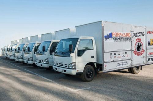 Forward Onsite Truck Mobile Preventive Maintenance Serving Atlanta GA