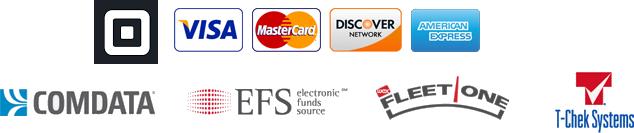 Cash Visa MasterCard